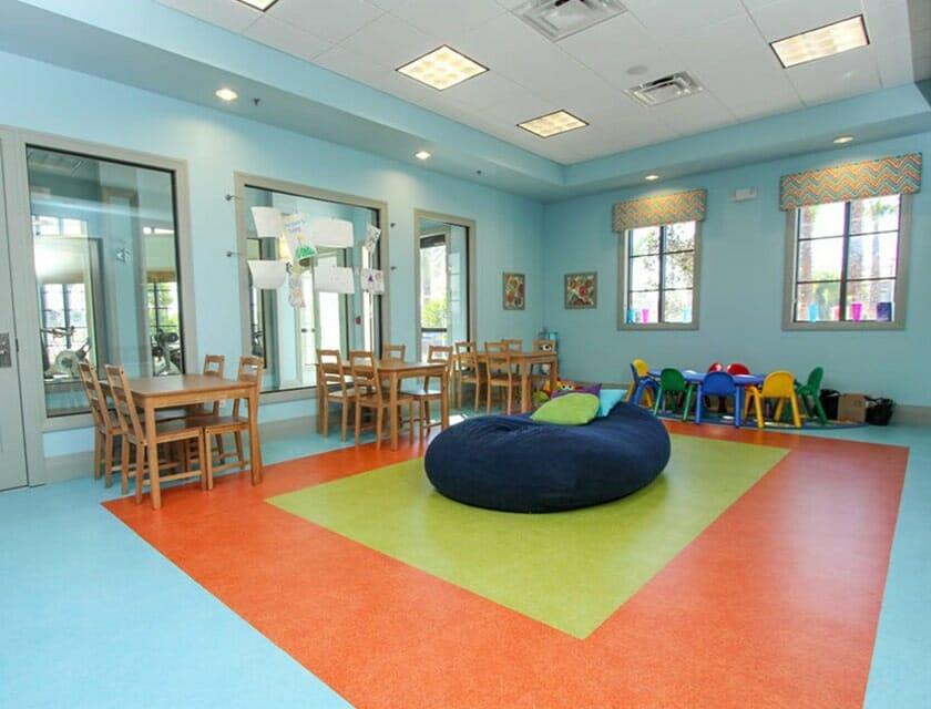 ChampionsGate Oasis Condos in Orlando Clubhouse Day Care - OrlandoVacation