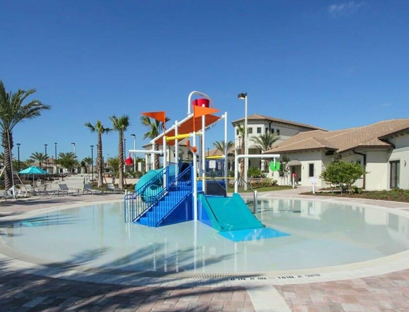 ChampionsGate Oasis Condos in Orlando Kids pool 2 - OrlandoVacation