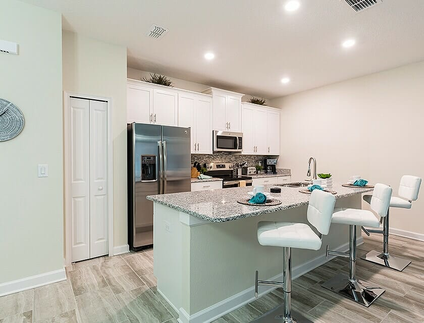 ChampionsGate Oasis Condos in Orlando Kitchen 1 - OrlandoVacation