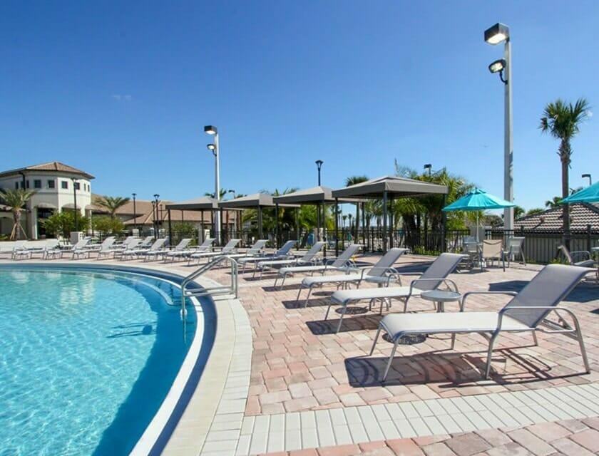 ChampionsGate Oasis Condos in Orlando Pool 3 - OrlandoVacation