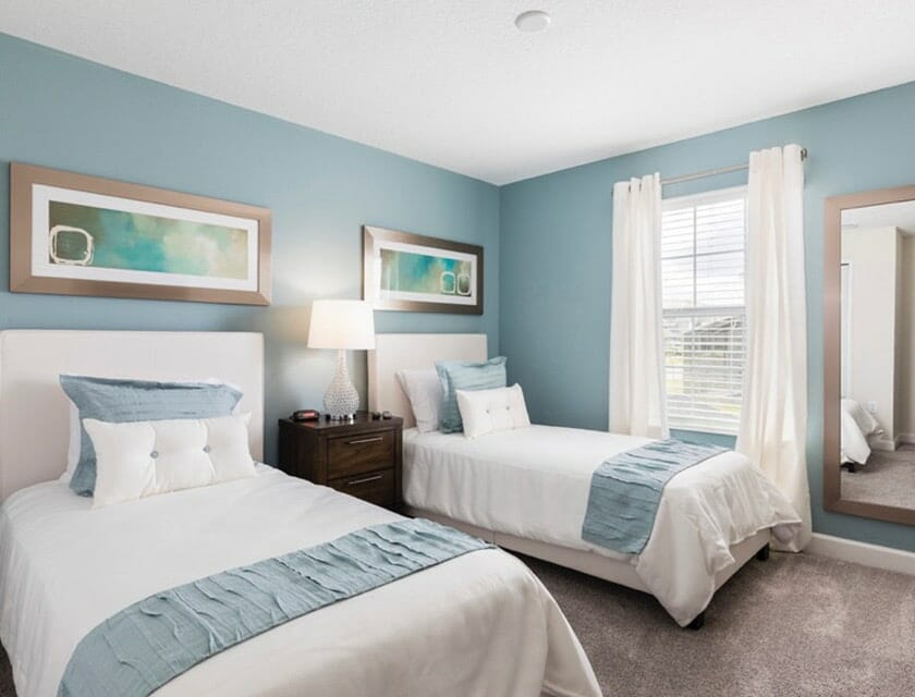 ChampionsGate Oasis Condos in Orlando TH Double Beds - OrlandoVacation