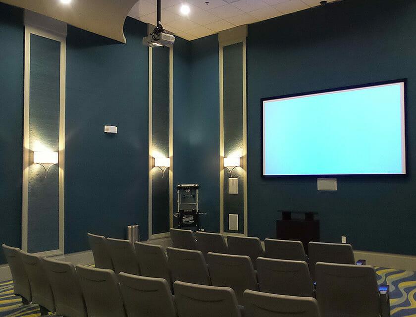 ChampionsGate Oasis Condos in Orlando Theater - OrlandoVacation