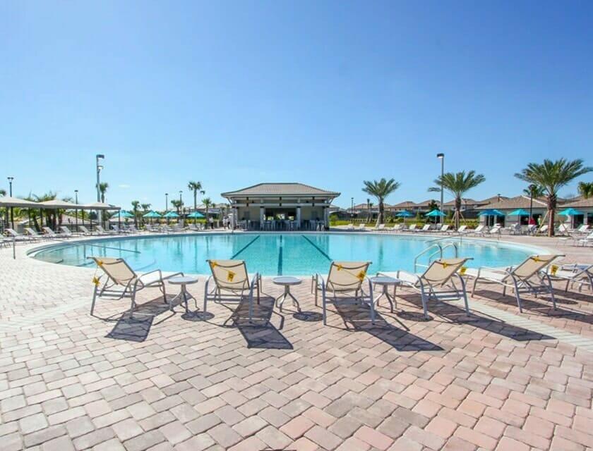 ChampionsGate Oasis Condos in Orlando pool 4 - OrlandoVacation