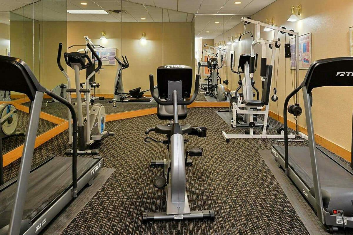 Comfort Inn Orlando Hotel Lake Buena Vista Fitness