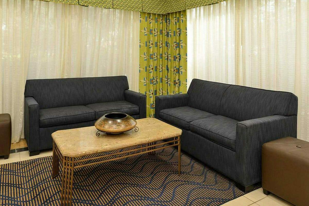 Comfort Inn Orlando Hotel Lake Buena Vista Lobby Sits