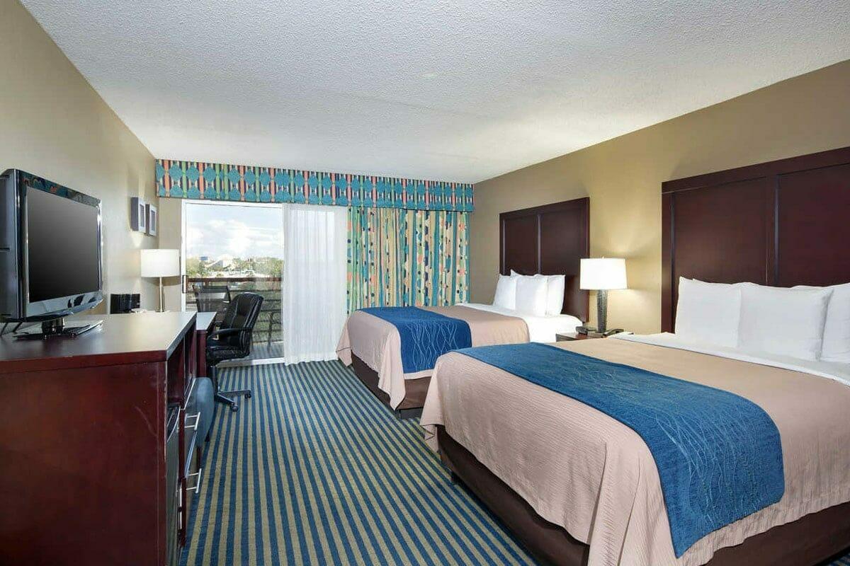 Comfort Inn Orlando Hotel Lake Buena Vista Room 2 beds 1