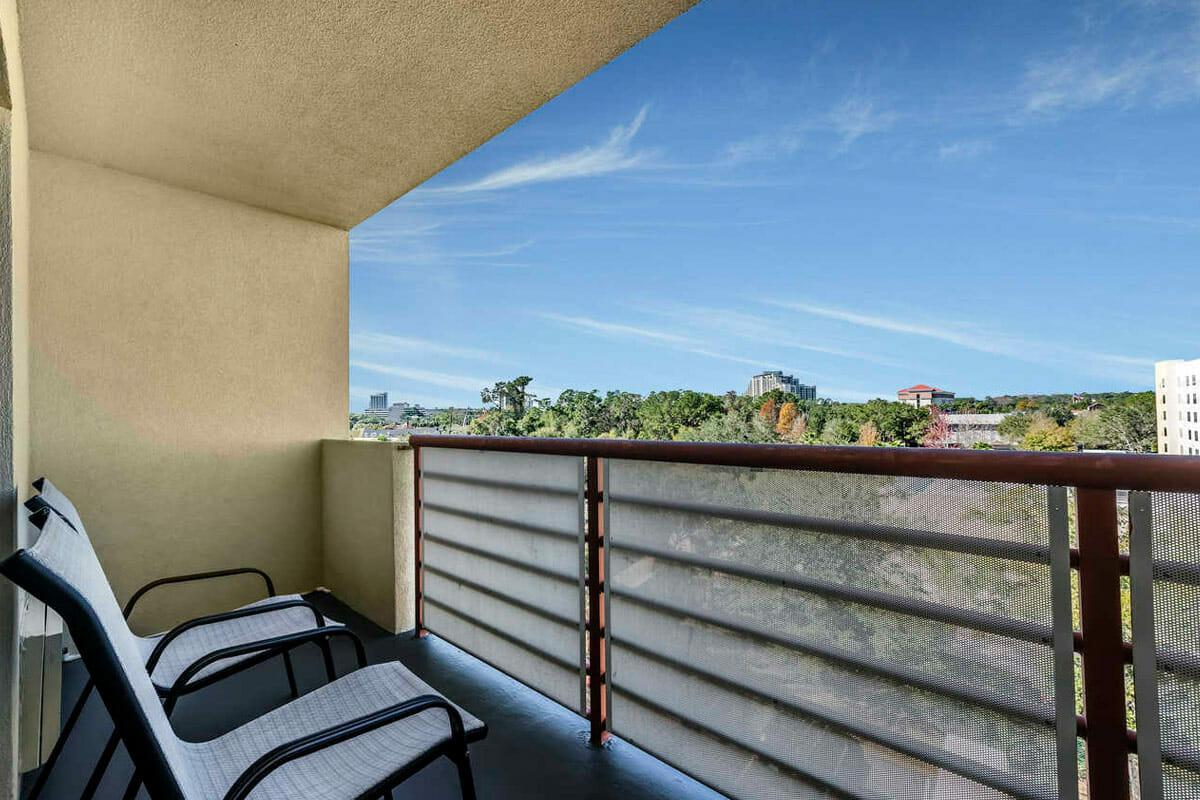 Comfort Inn Orlando Hotel Lake Buena Vista Room Balcony