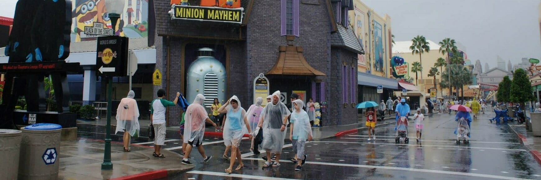 Rainy Days at Universal Studios - Orlando vacation