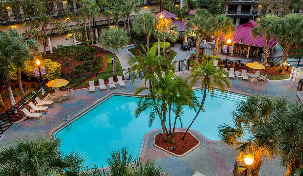 Royale Parc Suites Orlando Hotel Pool Top View B
