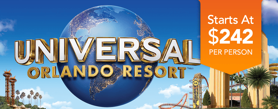 Universal Studios Vacation Packages Best Prices Guaranteed