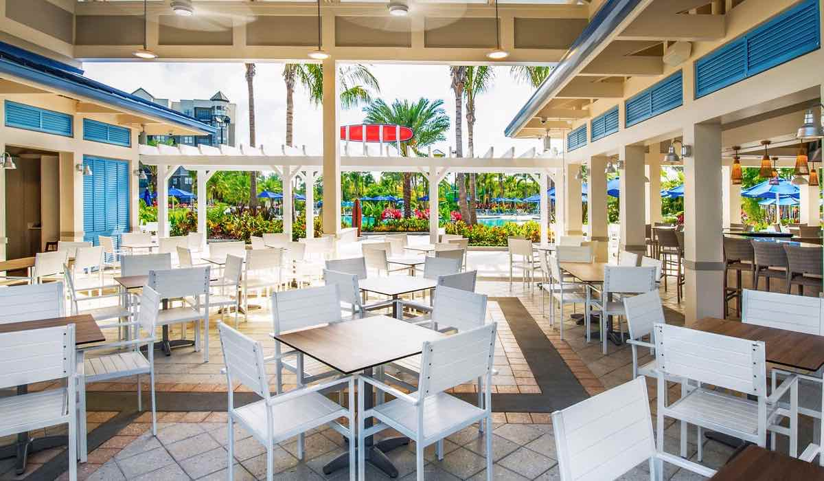 The Grove Resort and Spa Orlando Hotel Pool Dinning