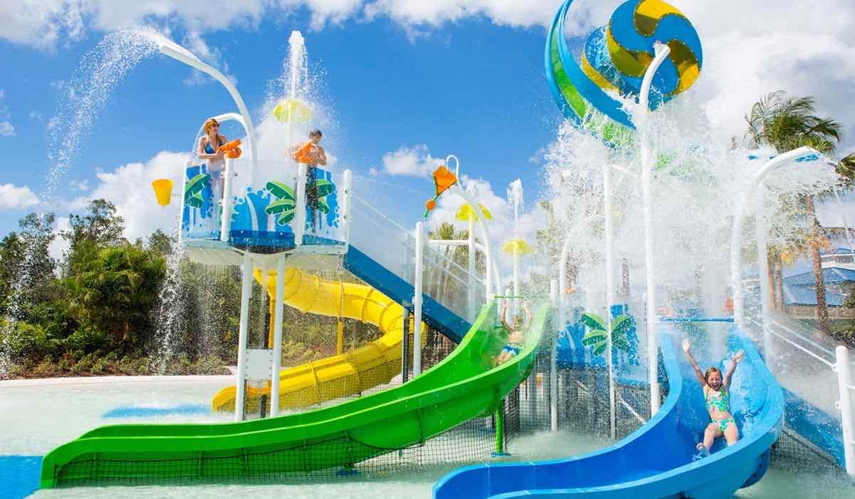 The Grove Resort and Spa Orlando Hotel Pool Kids Sliders