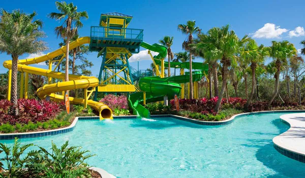 The Grove Resort and Spa Orlando Hotel Pool Sliders