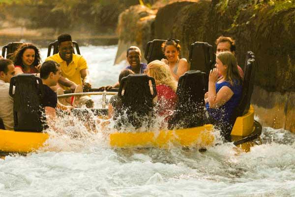 Rapids of the Congo River Busch Gardens