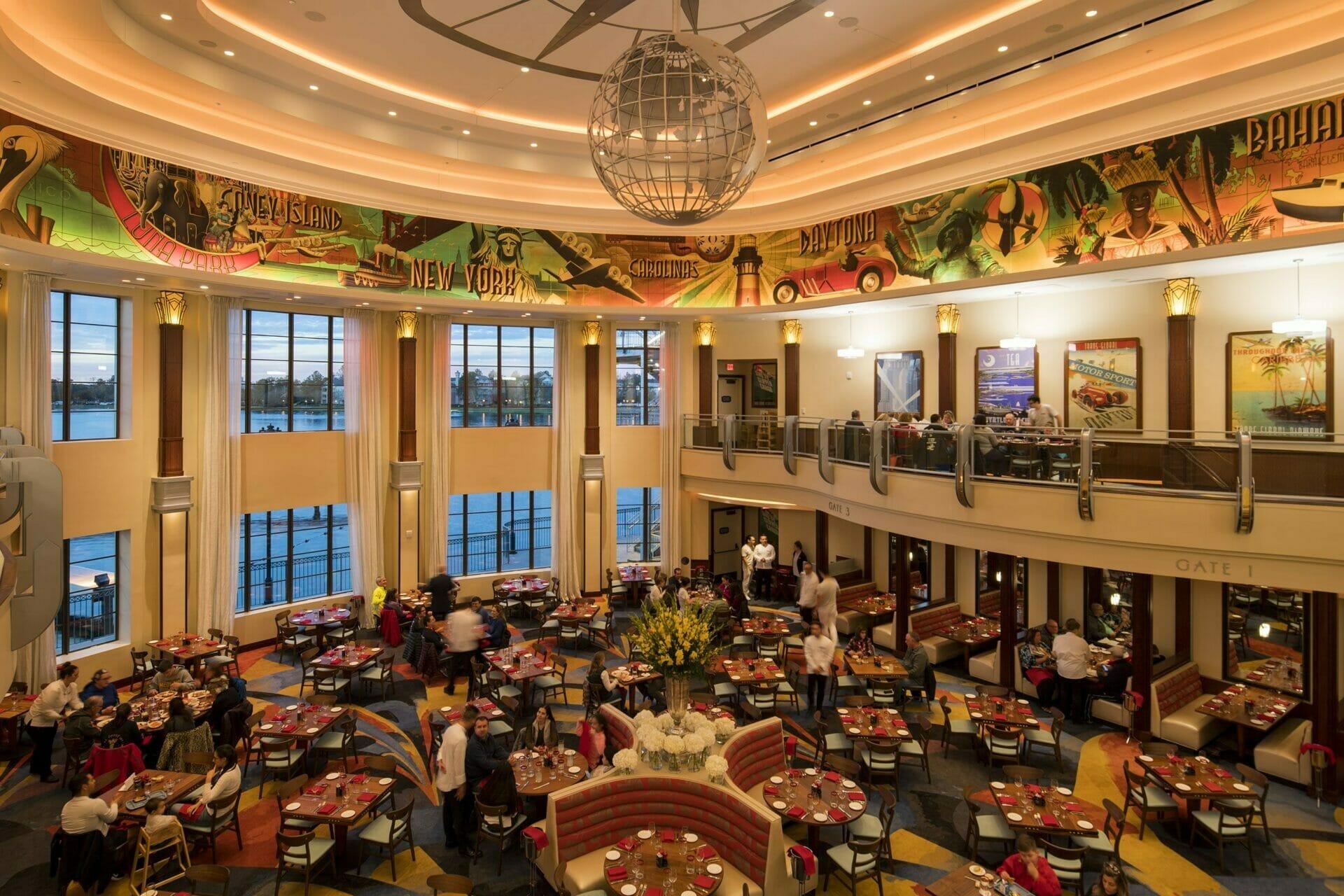 Disney World restaurant