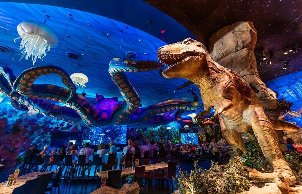 T Rex Cafe at Disney Springs