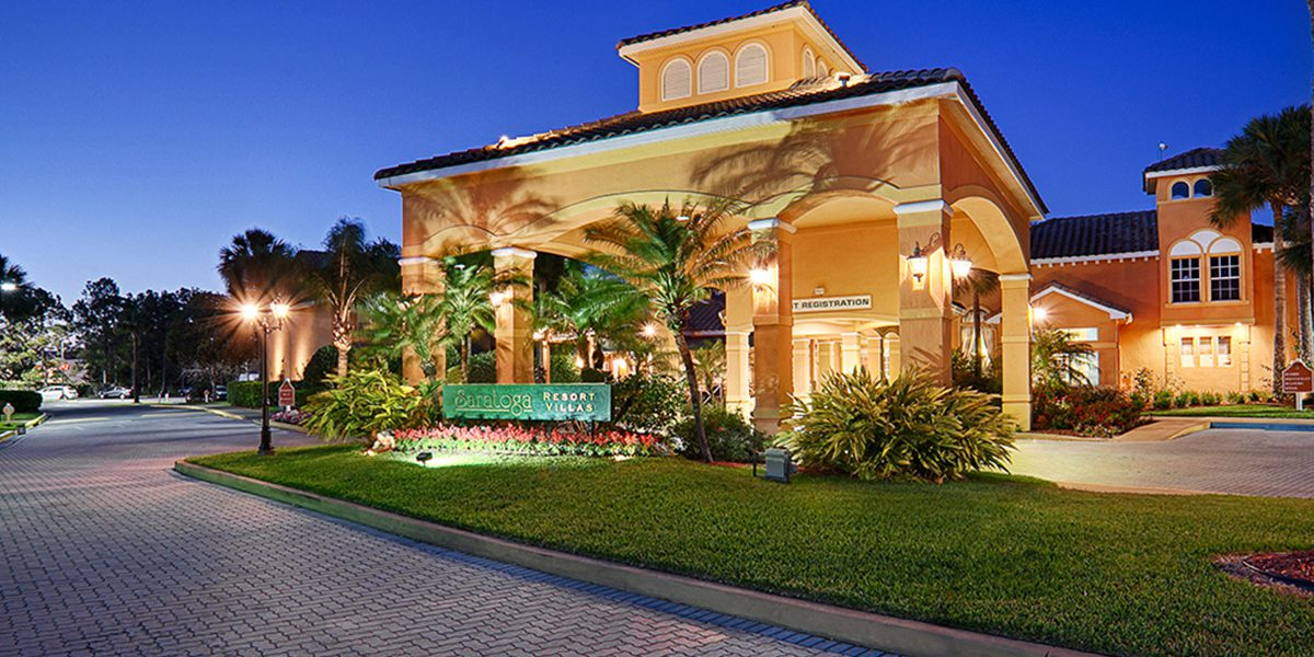 Saratoga Resort Villas-Orlando Hotels Front View