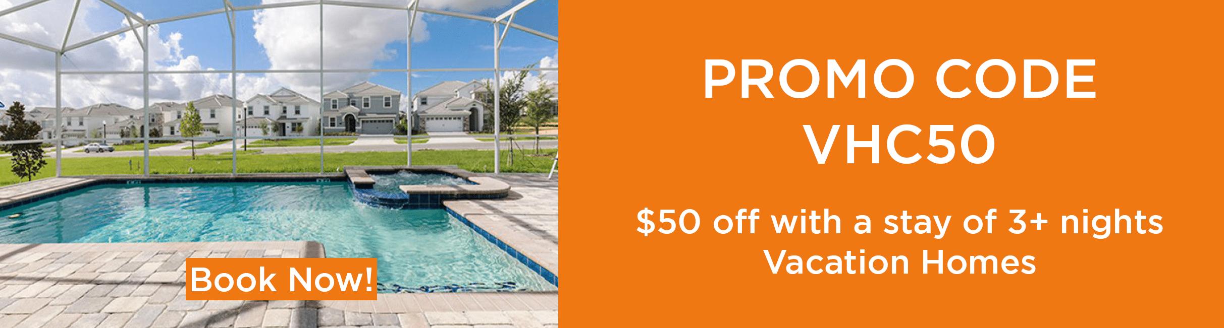 Promo 50 off web-Orlando vacation discounts