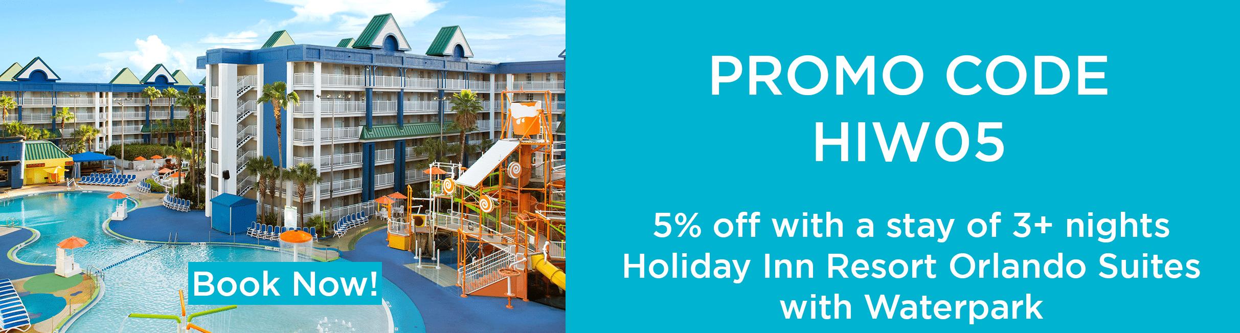 promo Holiday inn WP web-Orlando vacation discounts