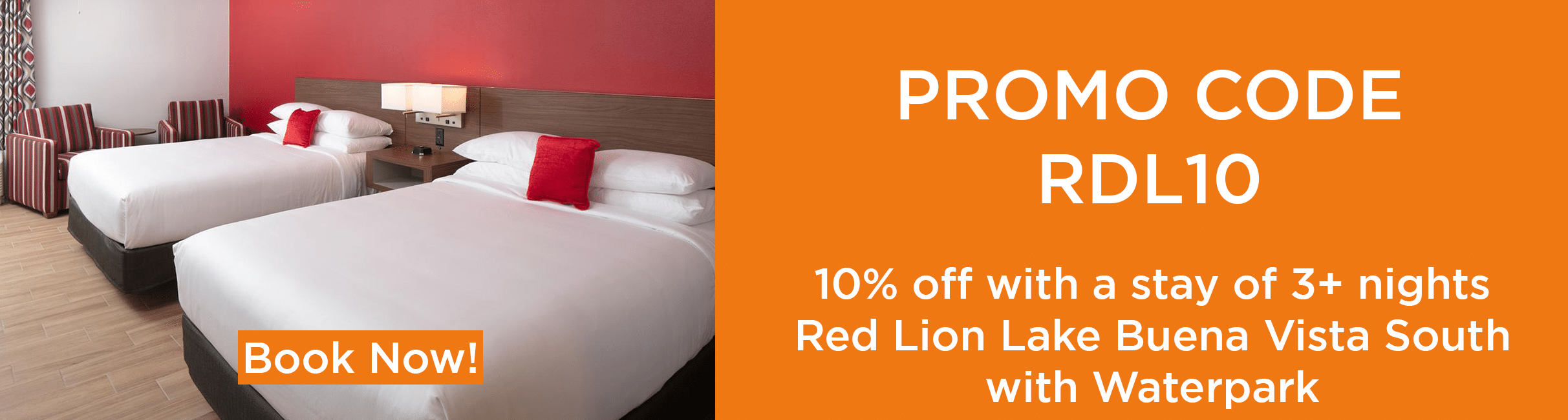 promo red lion-Orlando vacation discounts