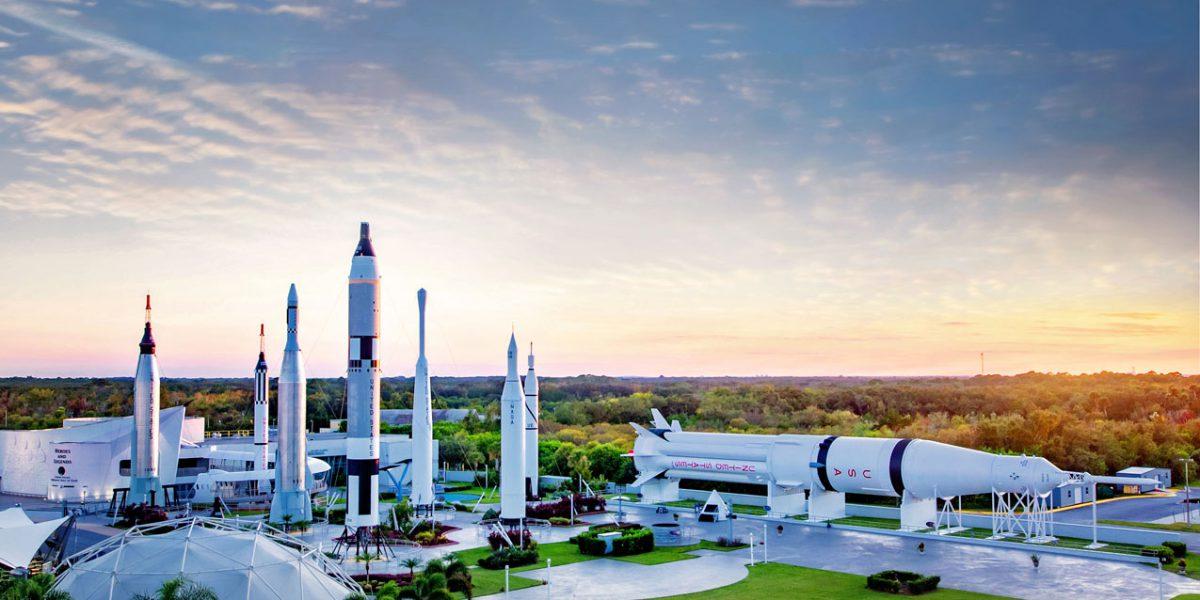 Kennedy Space Center - Aero-graphics-2---Orlando-attraction