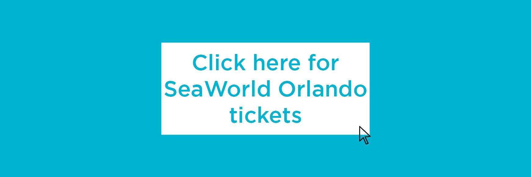 Seaworld tickets banner