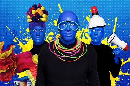 blue man group web - orlando attraction
