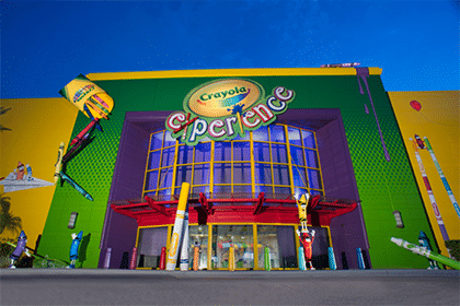 crayola experience - orlando attraction