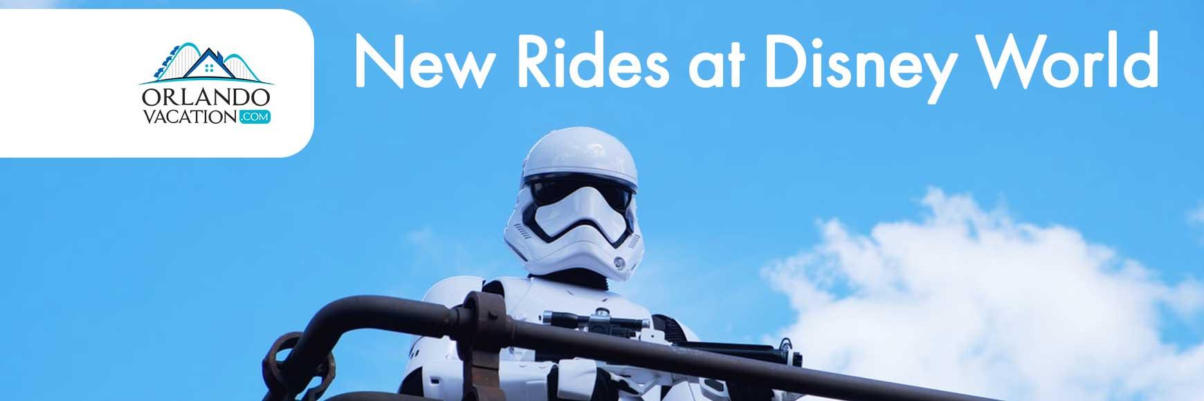 New Rides at Disney