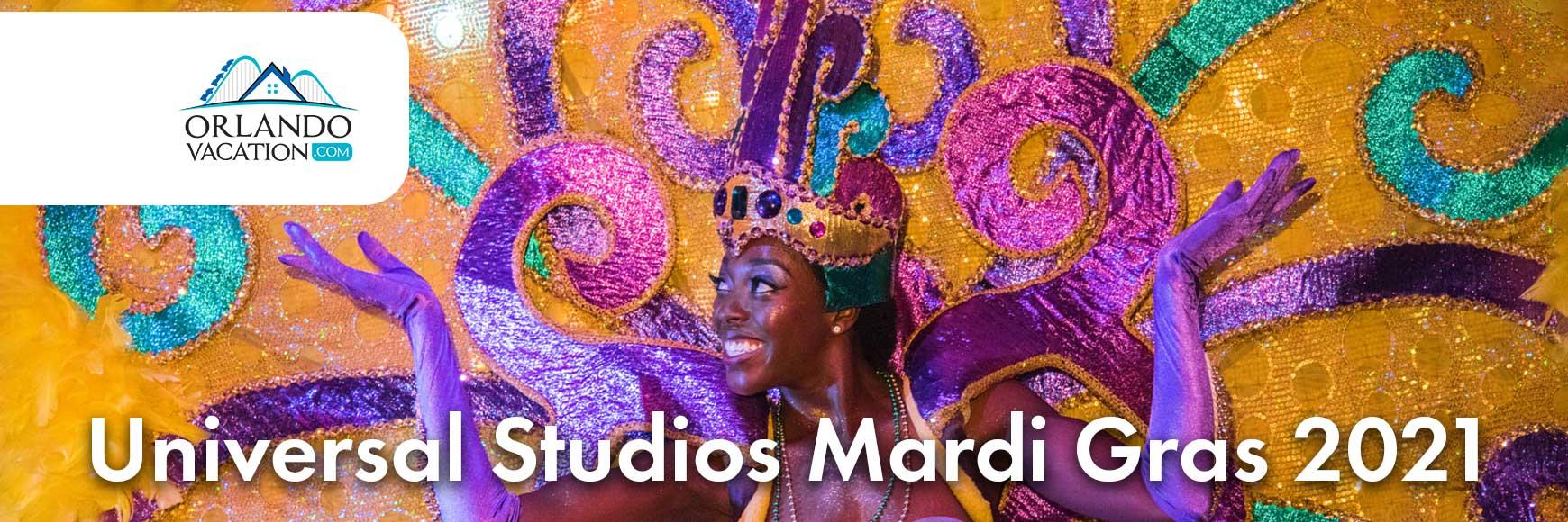 Mardi Gras 2021 at Universal Studios Orlando Florida