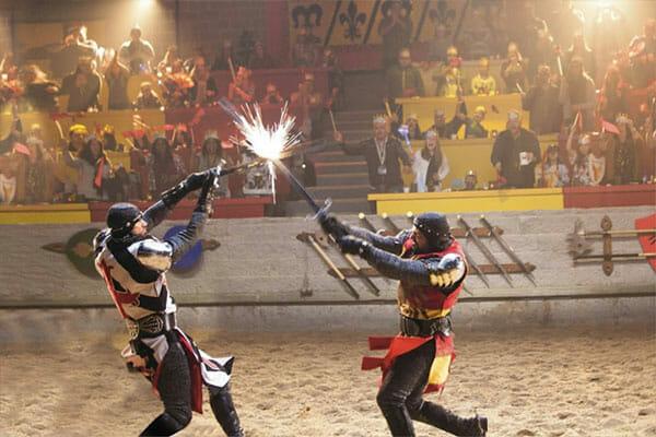 Medieval Times Sword Sparks