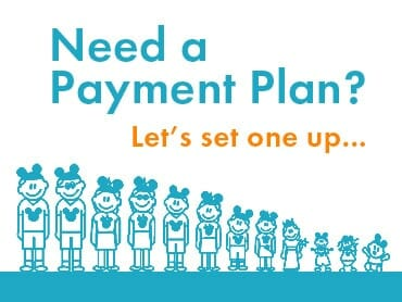 Need a payment plan?