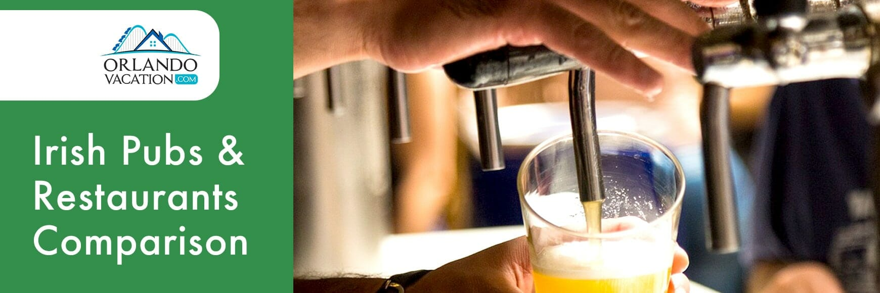 Irish Pubs and Restaurants Comparison