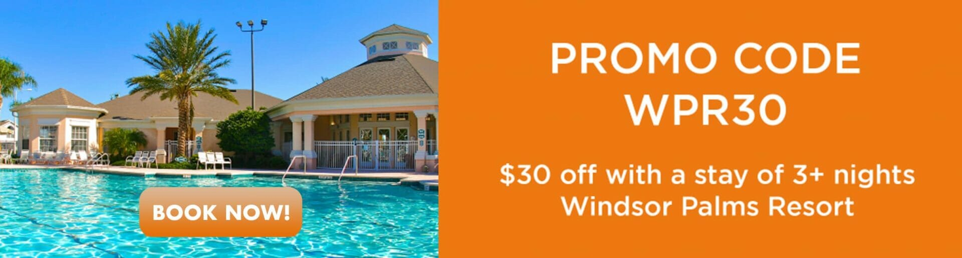 Promo Windsor Palms 30% off Orlando Vacation Discounts