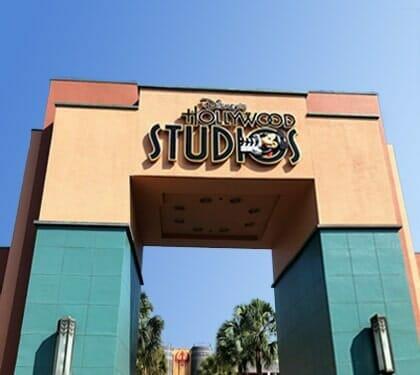 Hollywood Studios Animation Courtyard Arch
