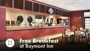 Free Breakfast Baymont Inn