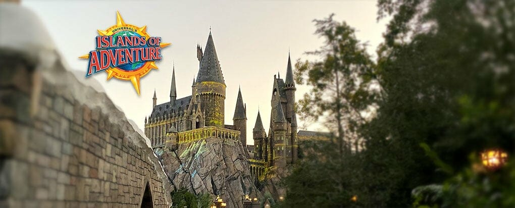 Islands of Adventure -Hogwarts Caslte
