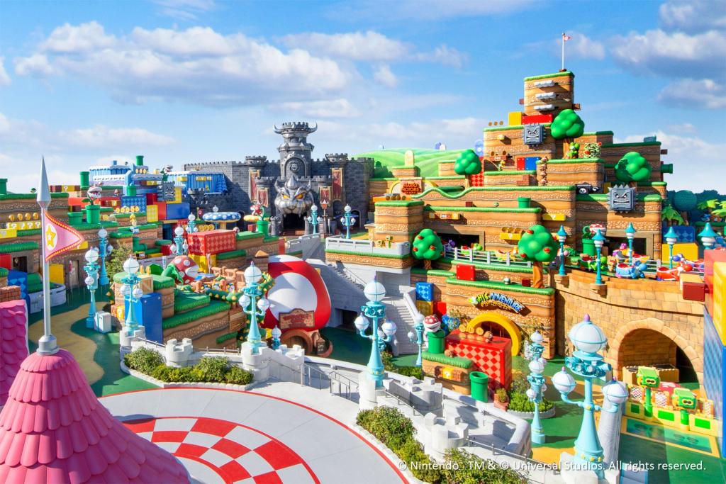 Super Nintendo World in Epic Universe