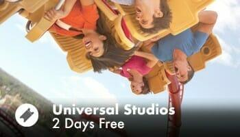 Universal Studios 2 Days Free
