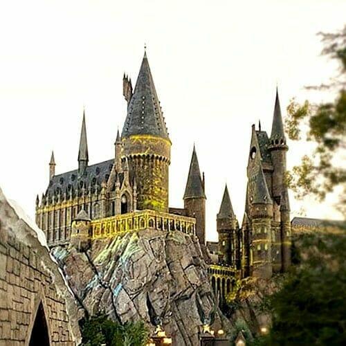Hogwarts Castle at Universal