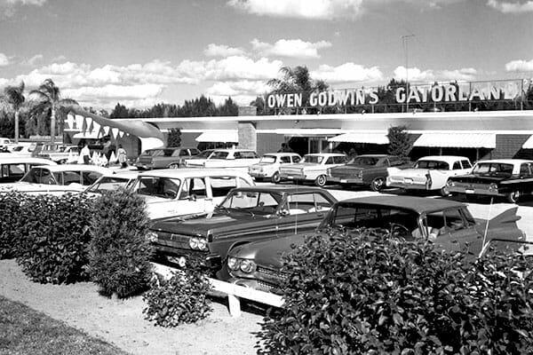 Gatorland 1963 Entrance