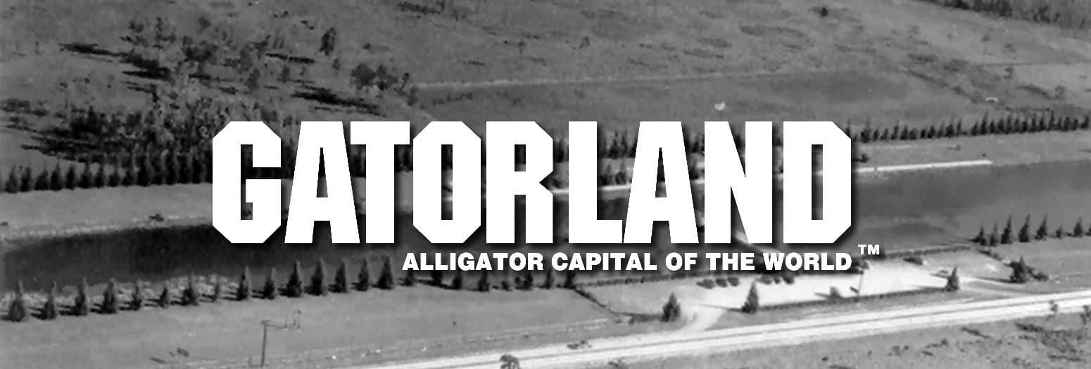 Gatorland alligator capital of the world