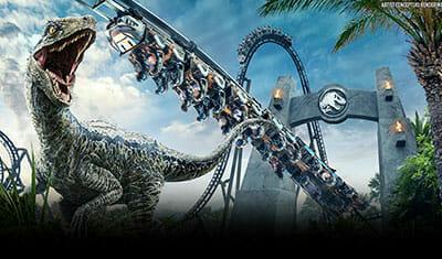 Jurassic Park - Velocicoaster